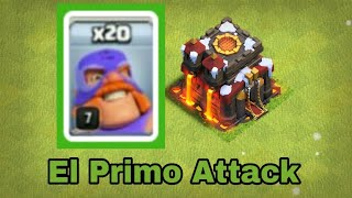 How to Use El Primo On TH 10 | New Troops |Clash of Clans