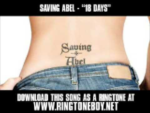 Saving Abel - 18 Days [New HQ Video + Lyrics]