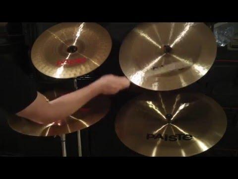 paiste 2002 twenty sound creation china cymbal comparison youtube. Black Bedroom Furniture Sets. Home Design Ideas