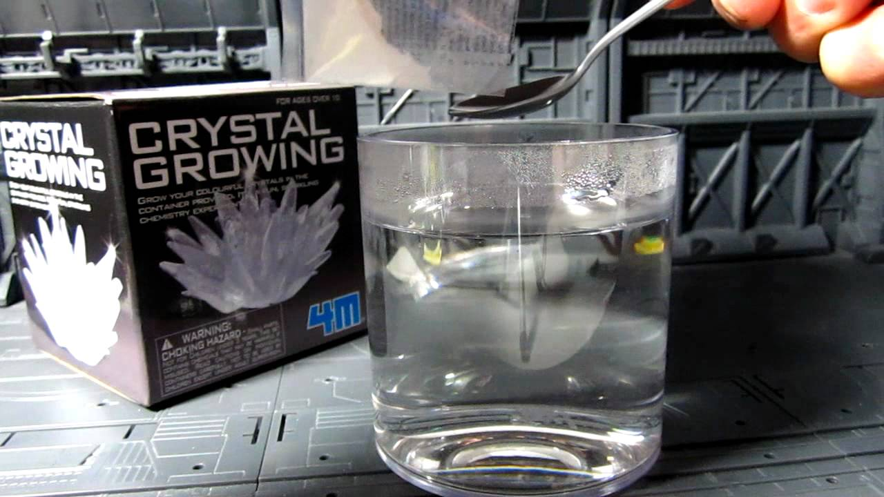 4m Crystal Growing Kit Youtube