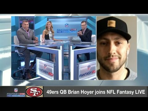 49ers QB Brian Hoyer Joins NFL Network