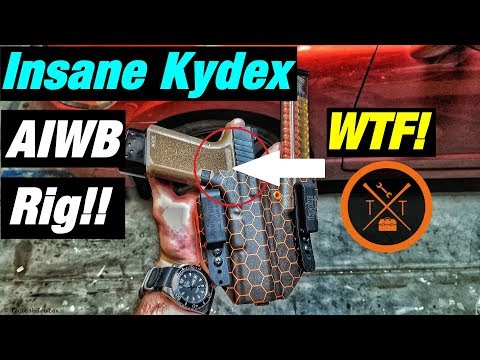 💥Best Appendix Holster For Glock 19?? | Insane Kydex Creations Review!