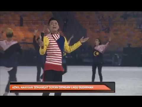 Aznil naikkan semangat sukan dengan lagu Sudirman
