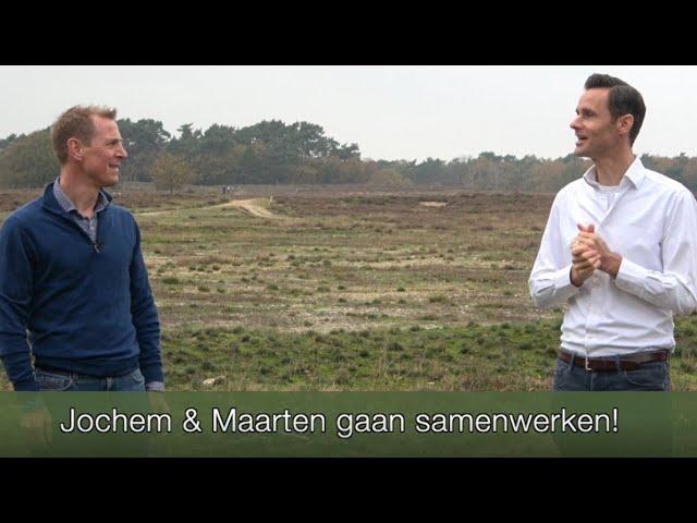 Jochem Uytdehaage (De Uytdhaaging) en Maarten de Jong (EnergizeMe) gaan samenwerken.