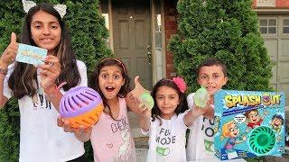 WATER TIME SPLASH OUT CHALLENGE  Kids Fun Game