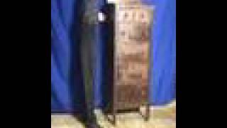 Oldwood_mi28  Oak Highboy Dresser, Art Deco