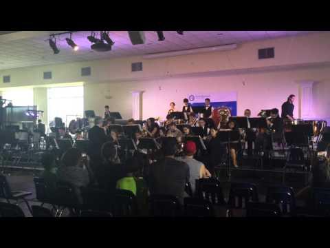 North Broward Preparatory School Band - Winder Wonderland Show 2016