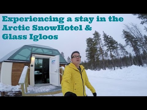 Finland Travel Vlog - Arctic Snow Hotel & Glass Igloos