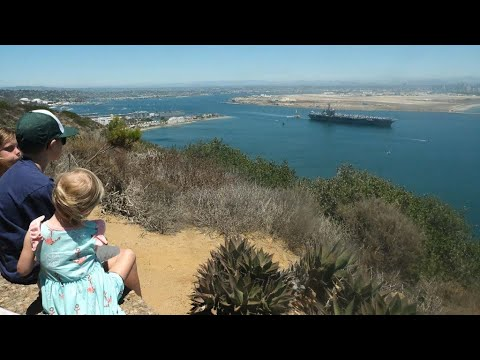 Timelapse: Families wave farewell to USS Carl Vinson