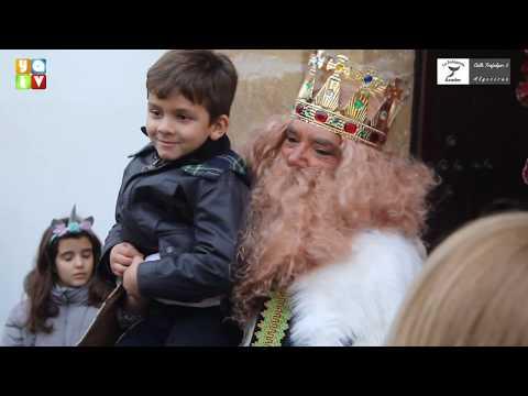 Los Reyes Magos recogen las cartas de los niños de Algeciras