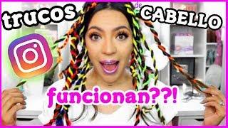 PEINADOS Y HACKS DE CABELLO DE INSTAGRAM, FUNCIONAN? ♥BeautybyNena