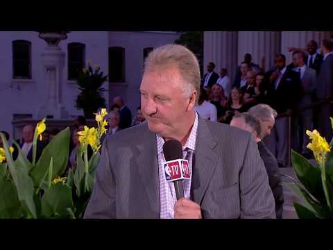 Hall Of Fame Ceremony: Larry Bird Interview || NBA || Sep, 8th 2017