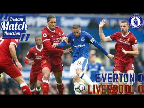 Blues Waste Late Chances | Everton 0-0 Liverpool  | Instant Match Reaction