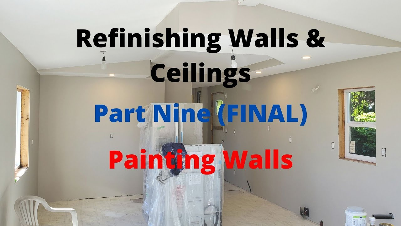 Refinish Mobile Home Walls And Ceilings Part 9 Painting Walls E062 Bc Renovation Magazine Youtube