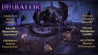 1st Balor Kill on Heredur! | Drakensang Online