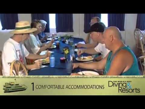 SWS promotional trip videos | World's Best Diving and Resorts Video Aqua Cat Cruises
