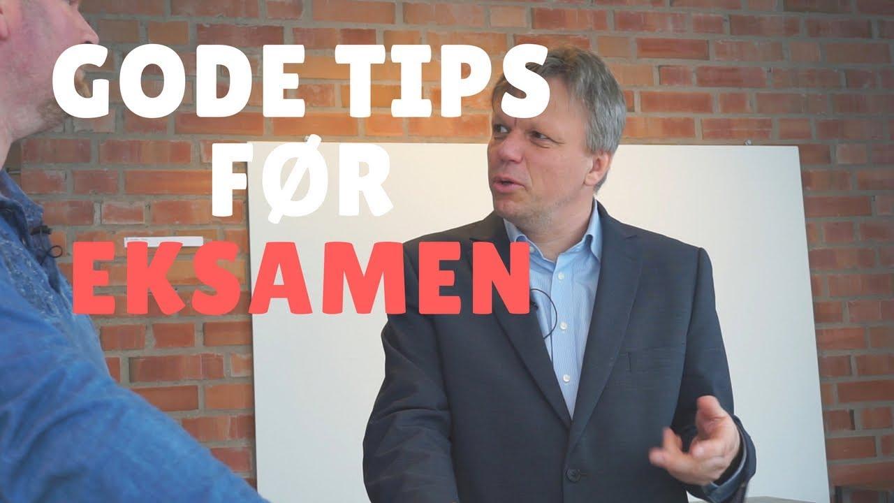 Eksamenshjelp med Espen Schønfeldt - strategier for å gjøre det bedre på eksamen.