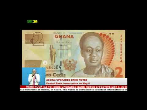 Bank of Ghana to introduce upgraded cedi notes
