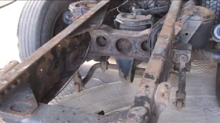 Как избавиться от глубокой коррозии металла. Пескоструйная обработка ржавой рамы грузовика Белгород