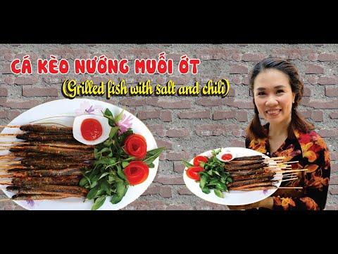 Cách làm cá kèo nướng muối ớt (How to make grilled fish with salt and chili)