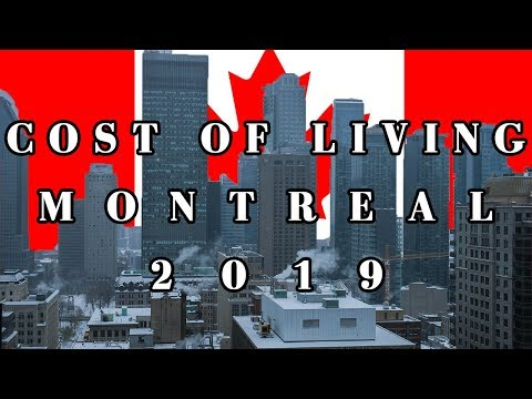 Cost of living in Montreal (Canada)