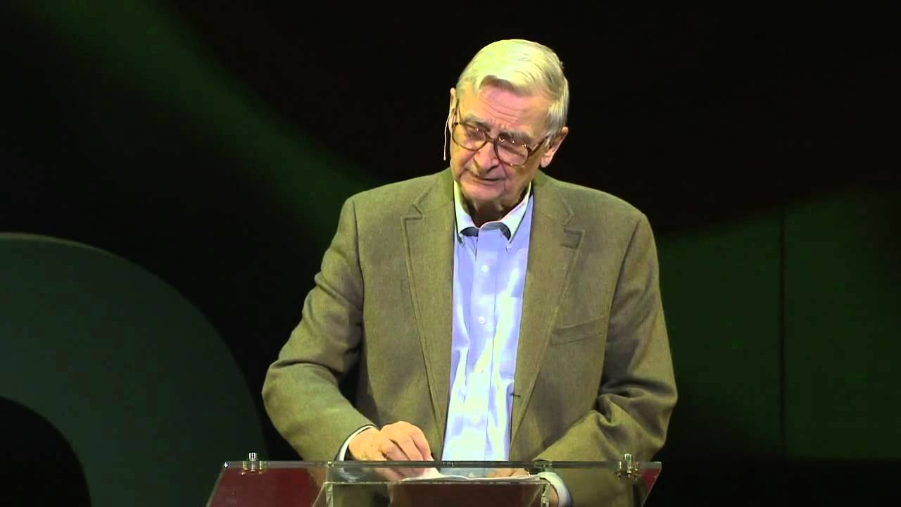 E.O. Wilson: Advice to young scientists