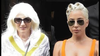 VIDEO Lady Gaga and her mother Cynthia Germanotta @ Paris 30 august 2018 / aout France