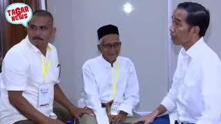 Download Video Pertemuan Jokowi dengan Nyak Sandang, Paspampres Kalah Cepat Dengan Kesederhanaan Jokowi MP3 3GP MP4