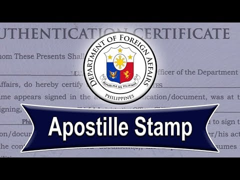 Apostille Document Authentication In The Philippines (Update)