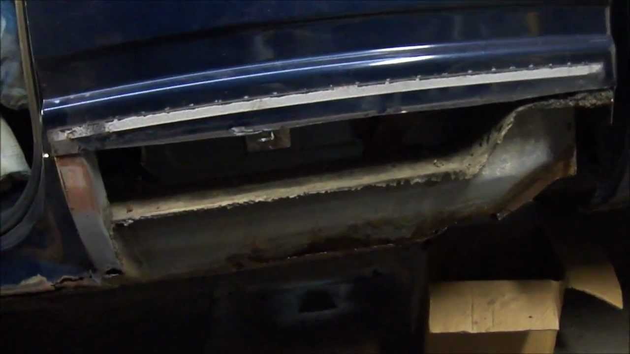 Chevy Truck Cab Corner Replacement Youtube