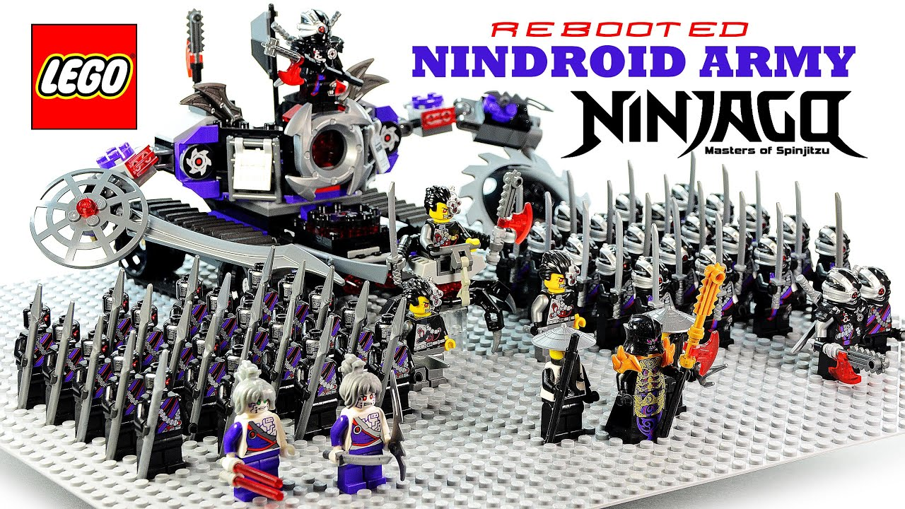 Lego® Building Nindroid Overlord Army Ninjago Evil Wu Rebooted The Overborgamp; W 9IEH2D