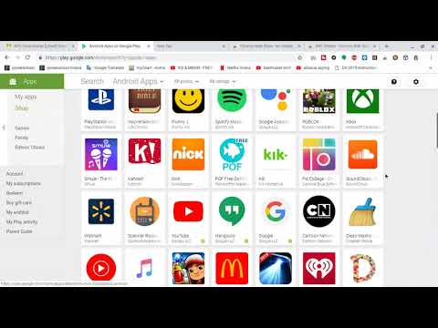 HOW TO DOWNLOAD ANDROID APPS ON CHROMEBOOK!!( Even Though If It's Not Compatible With Play Store)