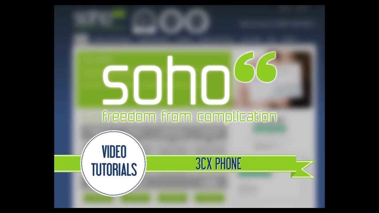 3CX for Windows - Soho66