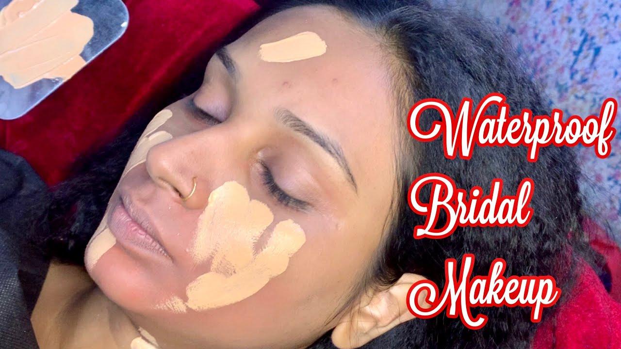 Download Real bridal makeup in summer season/ Waterproof bridal makeup step by step/long lasting bridal look