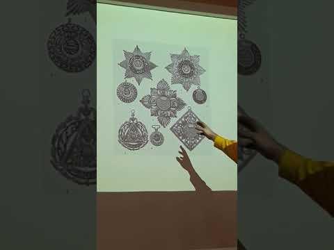 Башкирский Тенгрианский орнамент