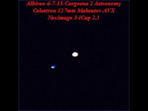 Double Stars Albireo, Cor Caroli and Epsilon Bootis, 6 7 15