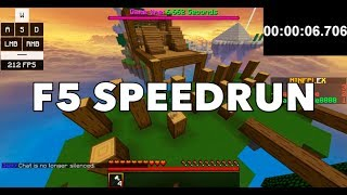 [ F5 Speedrun ] Dragon Escape - Skylands Jumper in 1:03.346