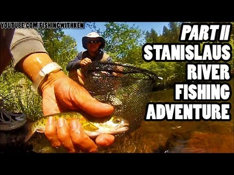 FishWithKen: [Part 2] Stanislaus River Fishing Adventure [May 2013] Beardsley Afterbay