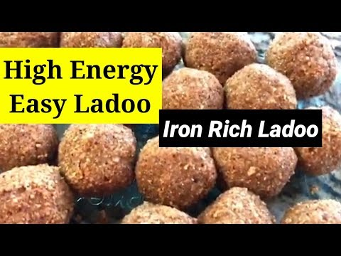 High Energy Iron Rich Ladoo For Kids And Women | Oats Peanut Ladoo | ART OF HOMEMAKING |  |