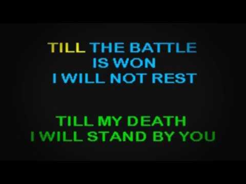 SC2012 01   O'Brien & Mattea   Battle Hymn Of Love, The [karaoke]
