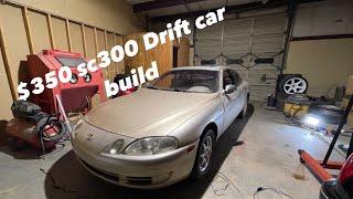 $350 SC300 Drift Build! Pt.1 From Scrap Car To Drift Car
