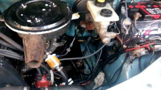 Work after an engine repair Transit 2.0 OHC / Ford Transit 2.0 OHC после капиталки двигателя(Ford Transit 2.0 OHC после капиталки двигателя на газу. Поршня от Ford Sierra, повышена степень сжатия примерно до 10-10.5..., 2015-10-24T16:07:43.000Z)
