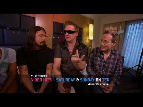 Video Hits interviews Them Crooked Vultures