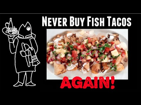Easy Fish Taco Recipe? 😗 Make Rolled Wahoo (Ono) Fish Tacos! NEVER BUY FISH TACOS AGAIN!