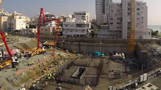 Trilogy East Tower Concrete Foundations