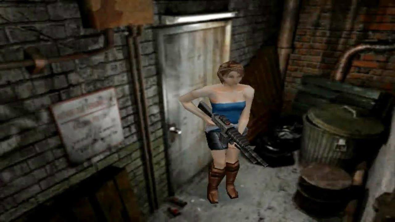 Resident Evil 3 Nemesis Ps1 Gameplay Youtube