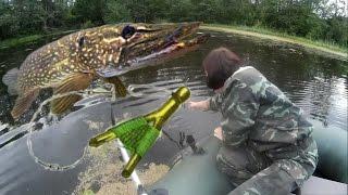 Летняя ловля щуки на жерлицу(Летняя ловля щуки на жерлицу., 2016-12-22T16:53:01.000Z)