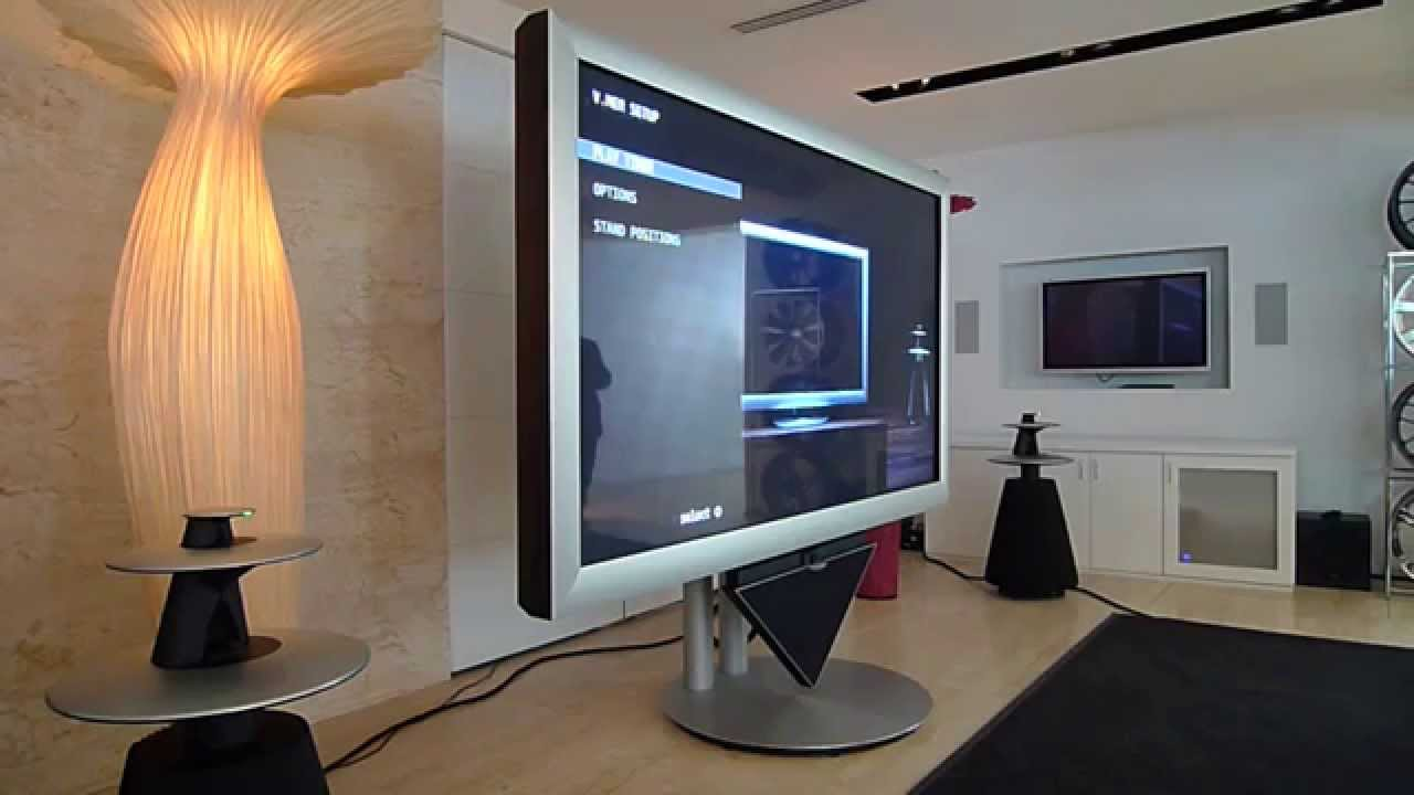 bang olufsen beovision 4 turning on youtube. Black Bedroom Furniture Sets. Home Design Ideas