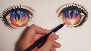 ✿Tutorial: How to Draw Sunset Anime/Manga Eyes アニメ(How to Draw Anime/Manga Eyes. Please watch in HD. This is my tutorial on how to draw anime/manga eyes. I hope you find it useful ^_^ Please COMMENT ..., 2015-06-06T16:00:01.000Z)