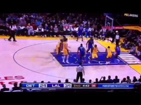 Tracy McGrady working the point vs the Lakers
